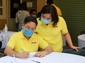Cộng đồng người Thái Lan tại Việt Nam hiến máu nhân đạo