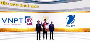 VNPT 'ẵm' mưa giải thưởng tại Sao Khuê 2020