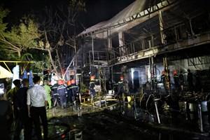 Đắk Lắk: Hỏa hoạn trong đêm, một nhà hàng bị thiêu rụi
