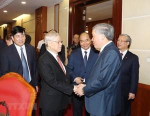 [ẢNH] Khai mạc Hội nghị BCH Trung ương Đảng lần thứ 12
