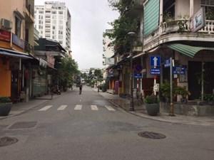 Huế: Tạm ngưng kinh doanh khu phố đi bộ để tiêu độc, khử trùng
