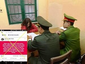 Thanh Hoá: Xử lý 21 trường hợp đăng tải thông tin sai về dịch Corona