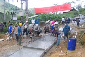 Bắc Hà (Lào Cai): Phấn đấu đến năm 2020 có 7 xã đạt chuẩn nông thôn mới