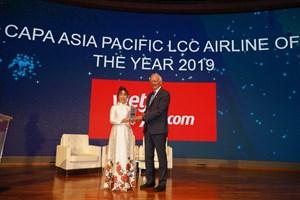 Vietjet được CAPA vinh danh Hãng hàng không chi phí thấp của năm
