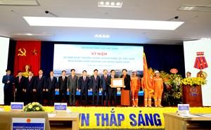 Tập đoàn Điện lực Việt Nam đón nhận Huân chương Lao động hạng Nhất lần 3