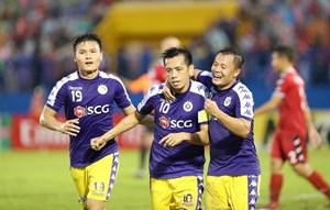 Chung kết AFC Cup 2019 - Khu vực ASEAN: Hà Nội FC giành lợi thế lớn