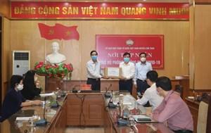 Kiểm tra công tác phòng, chống dịch Covid-19 tại Lâm Thao