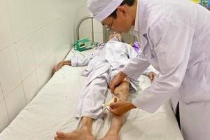Phẫu thuật thành công cho cụ bà 104 tuổi bị hoại tử chân