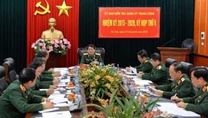 UBKT Quân ủy Trung ương đề nghị thi hành kỷ luật 4 tổ chức đảng trong quân đội