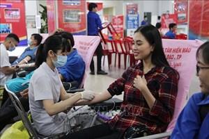 TP Hồ Chí Minh: Tiếp nhận hơn 1.700 đơn vị máu tại Ngày hội Hiến máu tình nguyện 2020
