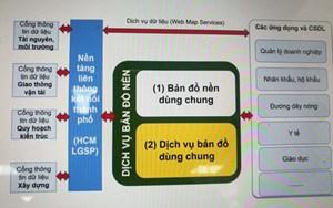 Thí điểm bản đồ số dùng chung của TP Hồ Chí Minh