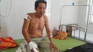 Quảng Ngãi: Làm rõ vụ vợ chồng thương binh 4/4 bị nhóm thanh niên đánh, chém