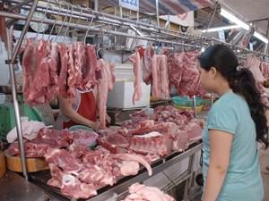 Giá thực phẩm tươi sống giảm sâu
