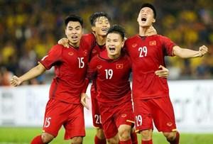 Tuyển Việt Nam giữ vững vị trí số 1 Đông Nam Á