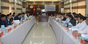 Quảng Nam: Tọa đàm về vai trò của MTTQ trong giám sát ngân sách Nhà nước
