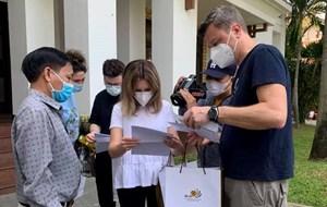 Thêm 8 du khách nước ngoài hoàn thành cách ly tại Hội An