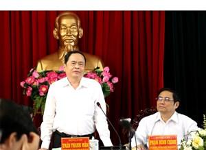 Chủ tịch Trần Thanh Mẫn: Vĩnh Long phải xác định đi lên từ nông nghiệp