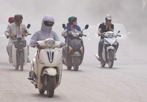 Hà Nội và các tỉnh phía Bắc còn chịu nhiều đợt ô nhiễm không khí