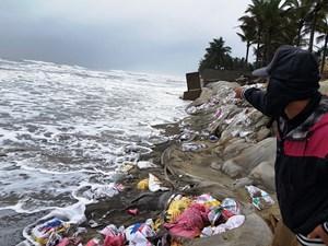 Nỗ lực cứu bờ biển Cửa Đại