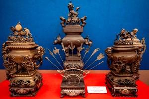Trưng bày hơn 800 hiện vật mang tinh hoa văn hóa dân tộc Việt Nam