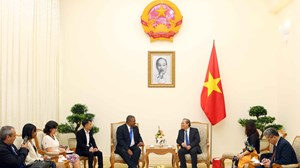 Phó Thủ tướng Trương Hòa Bình tiếp Chánh án Toà án nhân dân Tối cao Cuba