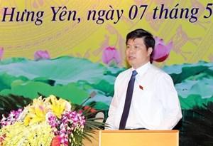 Chủ nhiệm Ủy ban Kiểm tra Tỉnh ủy được bầu Chủ tịch HĐND tỉnh Hưng Yên