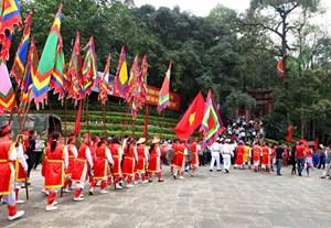 Tổ chức ở quy mô Quốc gia Lễ hội Đền Hùng 2020