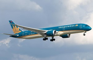 Máy bay Vietnam Airlines bị ống lồng đâm hỏng động cơ tại sân bay Nga