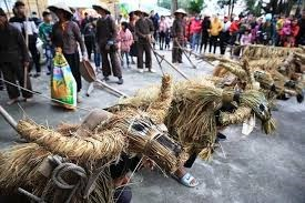[VIDEO] Độc đáo lễ hội trâu rơm bò rạ ở đồng bằng sông Hồng