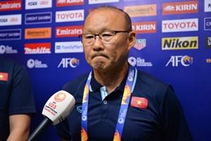 HLV Park Hang Seo lên tiếng về án phạt của AFC