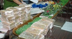 Bắt giữ đối tượng vận chuyển 7,3 kg heroin