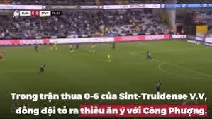 [VIDEO] Khoảnh khắc Công Phượng không được đồng đội Sint Truidense chuyền bóng