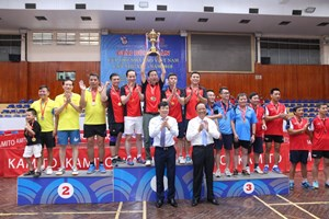 Bế mạc Giải Bóng bàn Cúp Hội Nhà báo Việt Nam lần thứ XIII