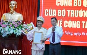 Điều Phó Giám đốc Công an Quảng Nam về Công an TP Đà Nẵng