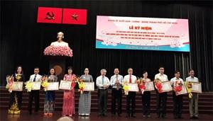 Biểu dương 70 tập thể và 111 cá nhân học tập và làm theo tư tưởng, đạo đức, phong cách Hồ Chí Minh