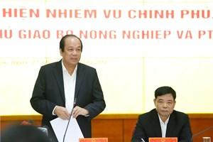 Biểu dương Bộ trưởng, Thủ tướng nhắc Bộ NNPTNT nhiều vấn đề