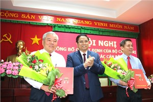 Bộ Chính trị công bố quyết định phân công Bí thư Tỉnh ủy Sóc Trăng