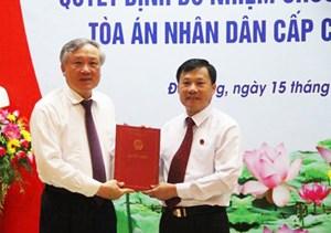 Chánh án TAND tỉnh Kon Tum được bổ nhiệm Phó Chánh án TAND cấp cao tại Đà Nẵng