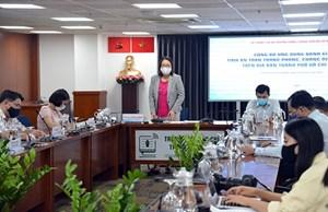 TP Hồ Chí Minh: Công bố ứng dụng đánh giá tính an toàn trong phòng, chống dịch Covid-19