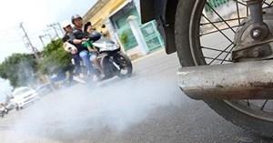 Nghiên cứu thí điểm kiểm tra khí thải xe mô tô, xe gắn máy