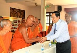 Chủ tịch Trần Thanh Mẫn gửi thư chúc mừng Tết cổ truyền Chôl Chnăm Thmây năm 2020