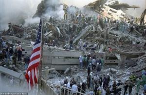 Hình ảnh lần đầu công bố về hiện trường thảm khốc vụ khủng bố 11/9