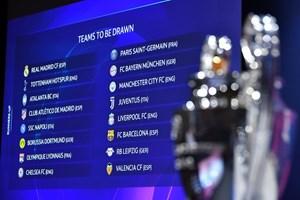 Chi tiết về các cặp đấu 'nảy lửa' tại vòng 1/8 Champions League