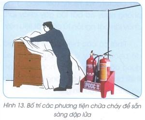 Nguyên tắc phòng cháy, chữa cháy trong quá trình sửa chữa nhà