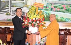 Chủ tịch Trần Thanh Mẫn gửi Thư chúc mừng Đại lễ Phật đản năm 2020 - Phật lịch 2564