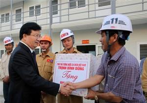 Chuẩn bị động thổ công trình Nhà Quốc hội Lào