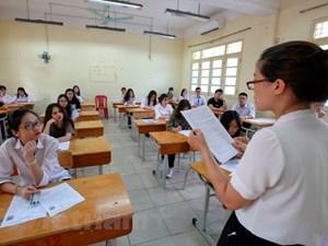 Có 27 thí sinh vi phạm quy chế bị xử lý kỷ luật trong môn thi Ngữ văn