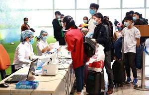 Sân bay Nội Bài sẽ đón 264 hành khách người Việt từ nước ngoài về