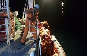 Đà Nẵng: Kịp thời cấp cứu thuyền viên bị nạn trên biển