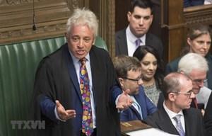 Chủ tịch Hạ viện Anh John Bercow tuyên bố ý định từ chức